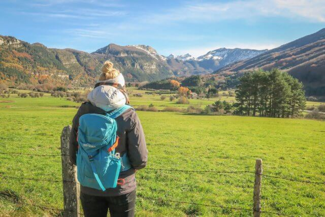 Navarra Spanien Roncal Tal Wandern Tatonka