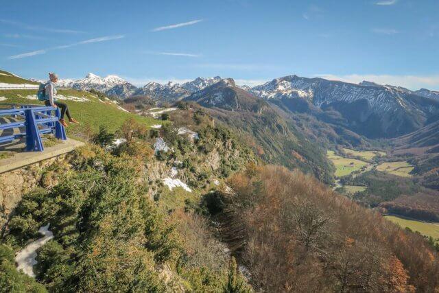 Navarra Spanien Pyrenäen Wandern Frankreich Aussicht Teva