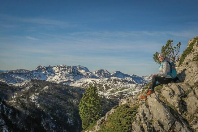 Navarra Spanien Pyrenäen Wandern Berge