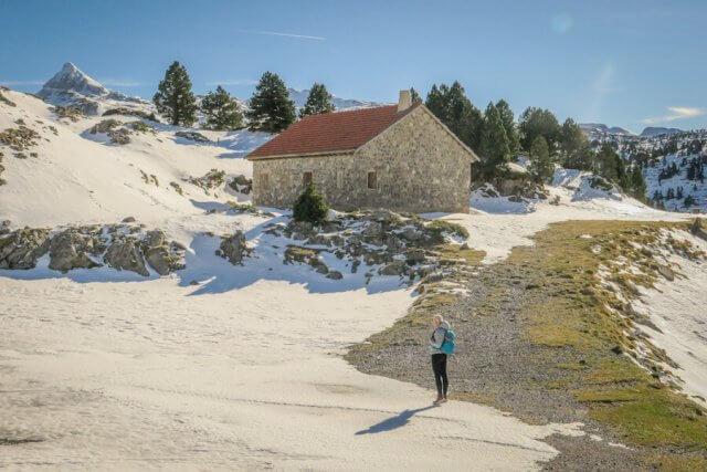 Navarra Spanien Pyrenäen Wandern Frankreich Grenze