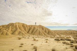 Navarra Spanien Bardenas Reales Landschaft Wüste