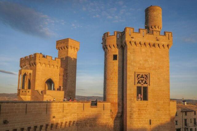 Navarra Spanien Palacio de Olite