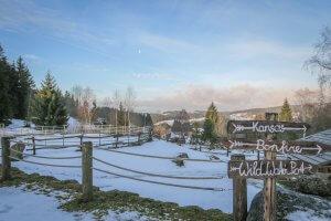 Muehlviertel Oesterreich Stonehill Ranch Aussicht