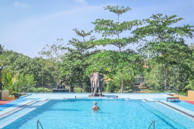Sri Lanka Ayurveda Paradise Maho Resort Hotel Pool