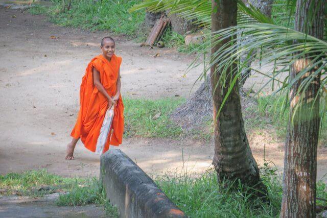 Sri Lanka Ayurveda Paradise Maho Tempel Mönch