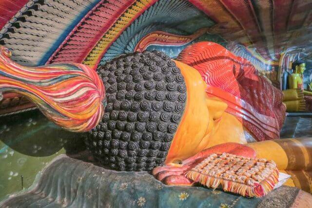 Sri Lanka Ayurveda Paradise Maho Ayurveda Kur Ausflug Tempel Kaikawala Buddha