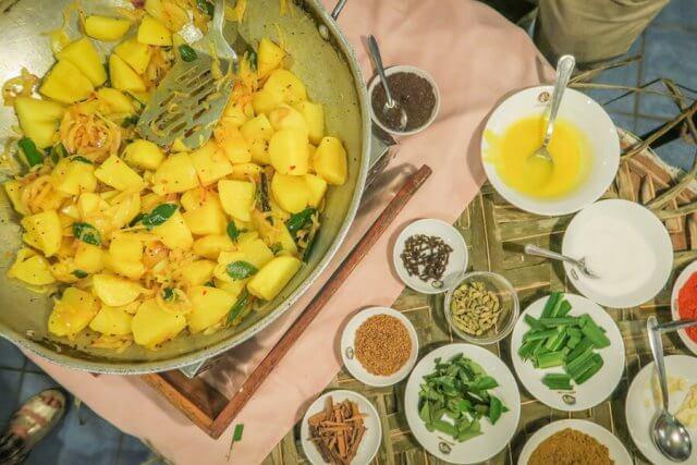 Sri Lanka Ayurveda Paradise Maho Ayurveda Kur Hotel Essen Kochkurs