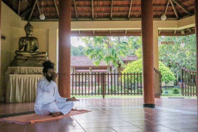 Sri Lanka Ayurveda Paradise Maho Resort Hotel Yoga