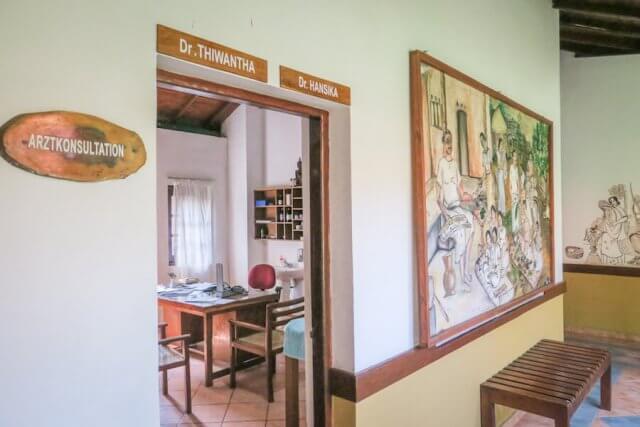 Sri Lanka Ayurveda Paradise Maho Ayurveda Kur Hotel Arzt
