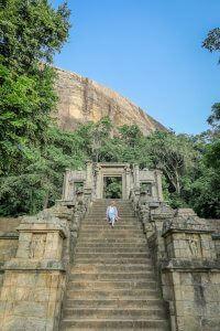 Sri Lanka Ayurveda Paradise Maho Ayurveda Kur Yapahuwa Königsstadt