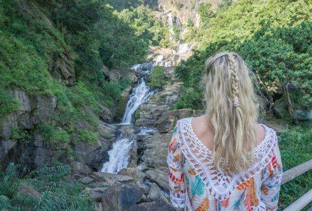 Sri Lanka Rundreise Urlaub Ella Ravenna Falls