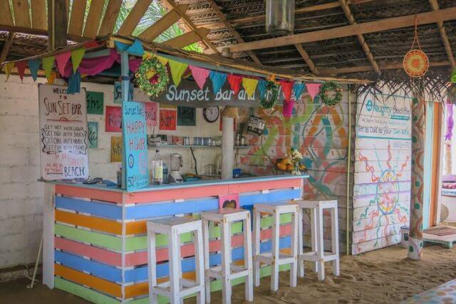Sri Lanka Urlaub Galle Dara Beach Home Strandbar