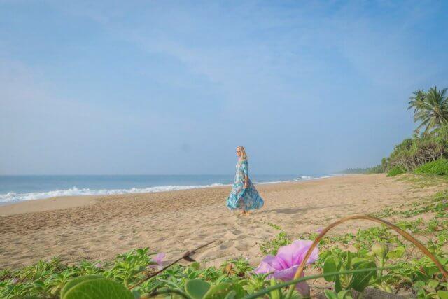 Sri Lanka Urlaub Lankavatara Ocean Retreat Hotel Tangalle Strand