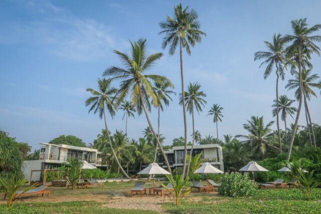Sri Lanka Urlaub Lankavatara Ocean Retreat Hotel Tangalle Resort Strand