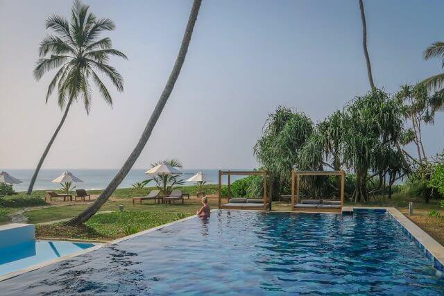 Sri Lanka Urlaub Lankavatara Hotel Tangalle