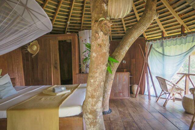 Sri Lanka Urlaub Hikkaduwa Huma Terra Green Lodge Baumhaus