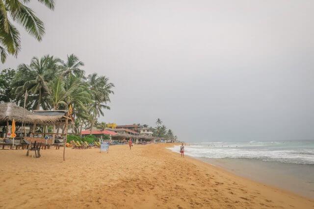 Sri Lanka Urlaub Hikkaduwa Strand