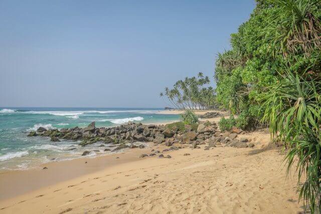 Sri Lanka Urlaub Unawatuna Strand