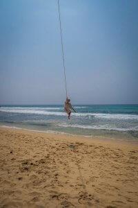 Sri Lanka Urlaub Unawatuna Schaukel
