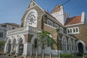 Sri Lanka Urlaub Galle Fort Kirche