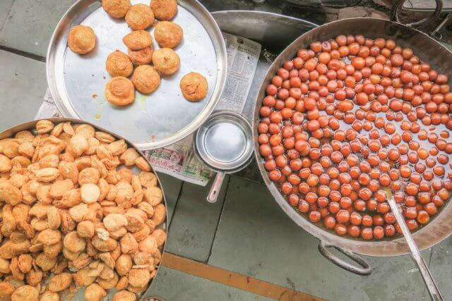 Indien Reisen Udaipur Altstadt Süßwaren