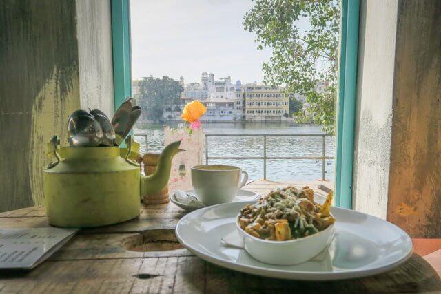 Indien Reisen Udaipur Hallo Boho Cafe Lunch