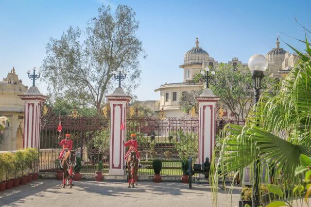 Indien Reisen Udaipur Royale Palace