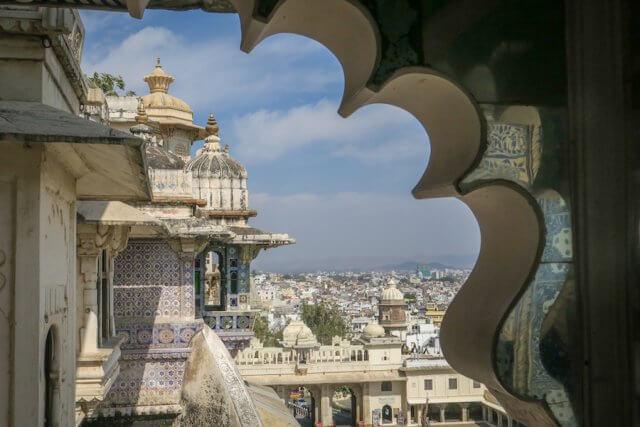 Indien Reisen Udaipur Königspalast