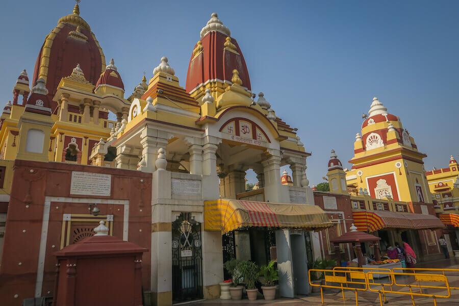 Das Red Fort, Dessen Größere Ausführung In Agra Steht, Kannst Du Weglassen,  Wenn Du Auch Nach Agra Beziehungsweise Zum Taj Mahal Fährst.