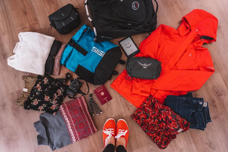 Packliste Reisen Koffer