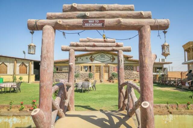 Rajasthan Rundreise Jaisalmer Green Park Restaurant