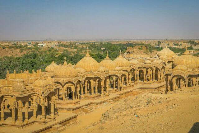Rajasthan Rundreise Jaisalmer Bada Bagh