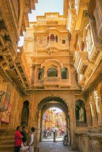 Rajasthan Rundreise Jaisalmer Havelis