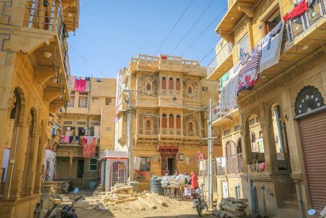 Rajasthan Rundreise Jaisalmer Altstadt