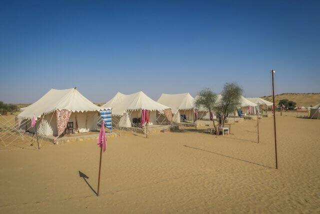 Rajasthan Rundreise Jaisalmer Nordindien Mangalam Resort