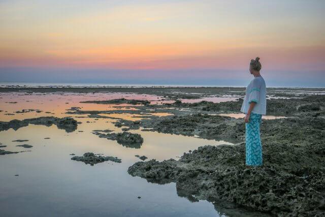 Andamanen Inseln Sonnenuntergang Neil Island