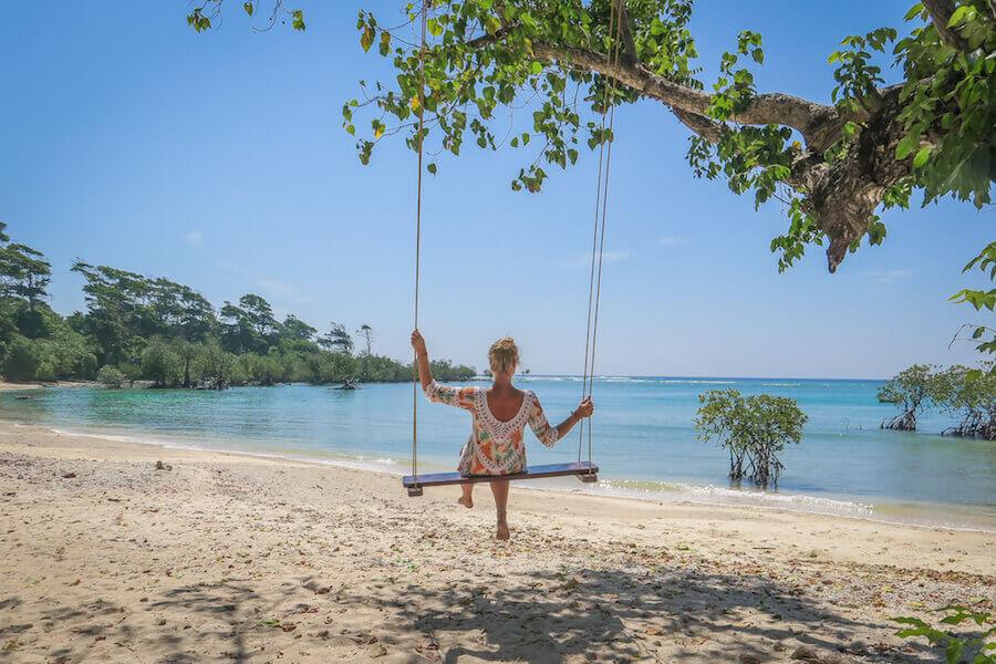 Andamanen Inseln Schaukel Neil Island