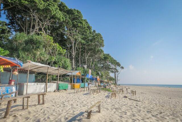 Andamanen Inseln Laxmanpur Beach