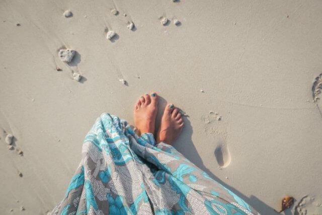 Andamanen Inseln Sandstrand