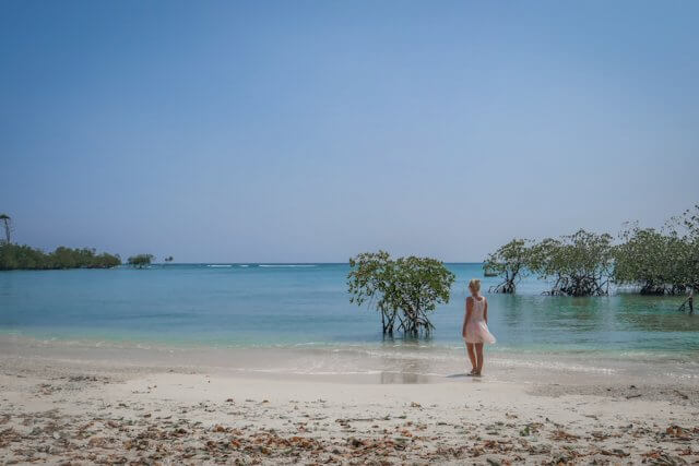 Andamanen Inseln Neil Island Meer