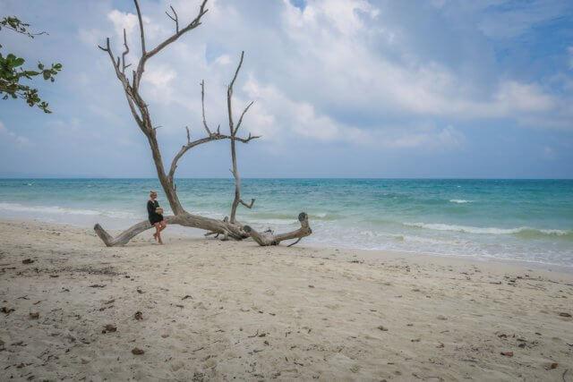 Andamanen Inseln Kalapat Strand Havelock