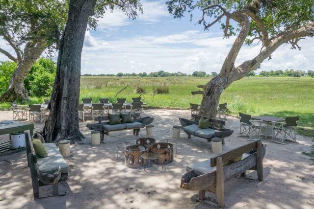 Botswana Okavango Delta Safari And Beyond Xaranna Lodge Boma