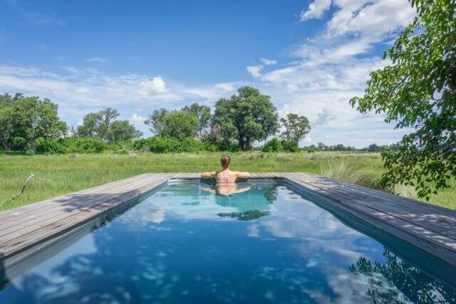 Botswana Okavango Delta Safari And Beyond Xaranna Lodge Villa Pool