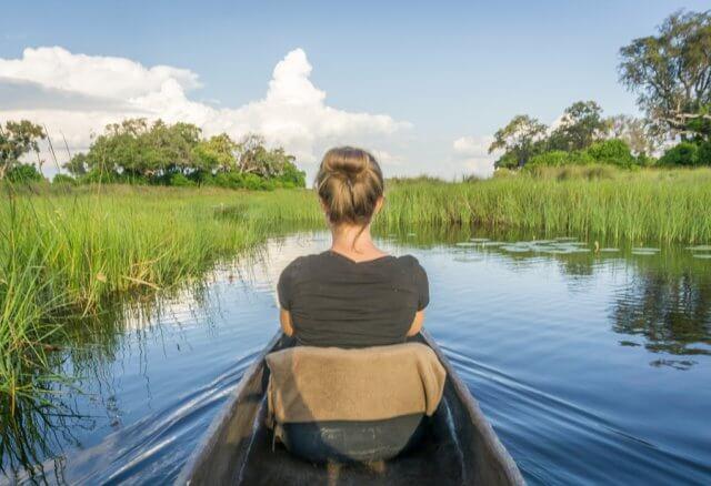 Botswana Okavango Delta Safari Boot Mokoro