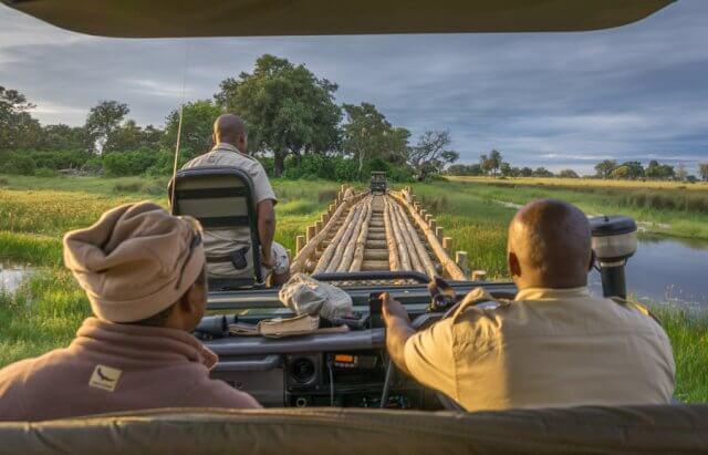 Botswana Okavango Delta Safari Bruecke