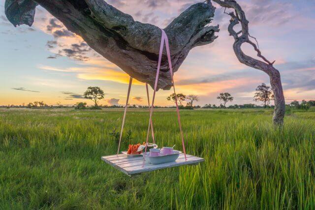 Botswana Okavango Delta Safari Sundowner