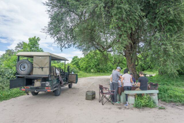 Botswana Safari Chobe Lunch