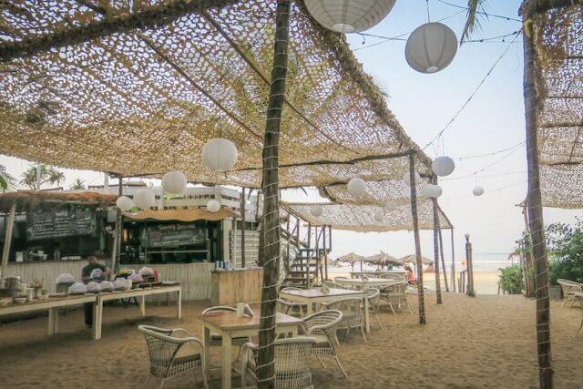 Goa Indien Anahata Retreat Restaurant