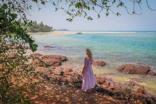 Goa Indien Paradise Beach