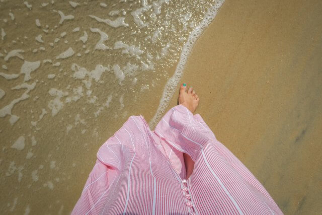 Goa Indien Paradise Beach Spaziergang